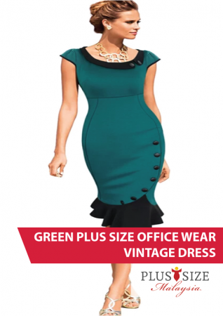 Plus Size Office Wear Malaysia 149